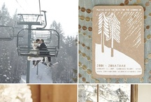 Winter Weddings / Inspiration and ideas for your winter wedding. From decorating, to themes, color palettes, fashion, and style.