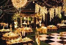 Wedding Decor / Ideas and inspiration for decorating your wedding. All types of themes, styles, colors, and more! From centerpieces to display tables to signage.