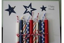Memorial Day and July 4 / Patriotic foods, Party Ideas and table design / by Janice Katz