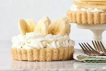 ~Pies & Tarts~ / My hubby loves peach pie. I just love a really good banana cream pie.