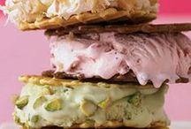 ~Ice Cream Sandwiches~ / Ice cream sandwiches are one of my favorite ice cream bars.