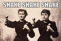 Shaking It Up / Why Shake? Because we want to shake things up; shiver with excitement; shake your hand; shake, rattle and roll; shake and shimmy to the music; shake the dust from our feet; shake off our limitations and shake up the world of social media! Let's shake!
