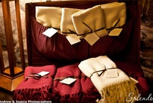 Shawls for Guests / Check out all the fun ways to hand out shawls to guests at your event. / by Splendor