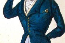 Redingotes / Jacken / Fräcke / Men's Fashion: 19th-century redingotes / by Melanie Grundmann
