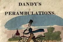 The Dandy's Perambulations / London: John Marshall, 1819. Robert Cruikshank / by Melanie Grundmann