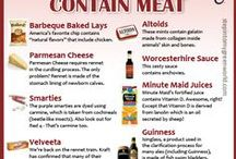 Food: What YOU Need To Know / News and information on banned ingredients and so much more...