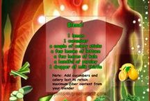 Detox Drinks / Healthy drinks to help you detox , flush out toxins and reach optimal health.