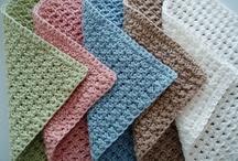 Crochet Dish Cloths & Kitchen Stuff / by Faye White