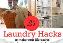 DIY Home Cleaning Tips / Cleaning and organizing hacks and tips for your home!