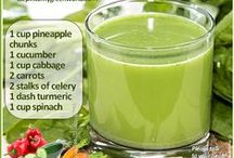 Weight Loss Smoothies and Juices / The healthiest smoothies and juices to help you lose weight fast.  For more: http://www.stepintomygreenworld.com