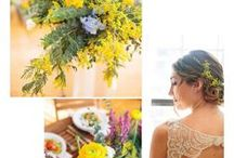 Yellow Wedding Color Palettes
