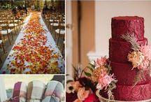 Red Wedding Color Inspiration / Red Wedding Color Inspiration