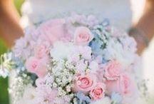 Pastel Wedding Color Inspiration / Pastel color inspiration for your wedding.