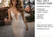 Berta Fall 2017 Bridal Launch in London / Join The Wedding Club for the European Launch of the Berta Fall 2017 Bridal Collection in London on 11 January.  Email info@thewedding-club for ticket info