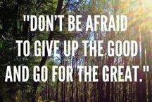 Quotes <3 / by Abby Herren