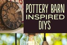 {DIY} Pottery Barn / Pottery Barn style for PENNIES!  Enjoy luxury home décor on a budget. It feels so good to decorating your home in a meaningful way with DIY crafts.