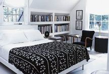 """Bedroom: Dormer Dreams / My #cottage style makeover ideas for a bedroom or bathroom in an upstairs dormer """"story and a 1/2 home""""."""