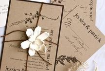 wedding: invitations, programs & menus