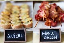 wedding: menu