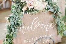 wedding welcome table / guestbooks. card boxes. warm welcomes.