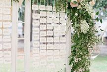 seating cards + charts