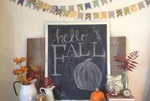 Fall Fabulous! / Apple festival, Halloween, Thanksgiving, neighbors and friends.