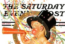 Saturday Evening Post: Baby New Year