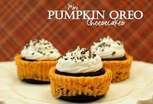 Pumpkin Love / Pumpkin flavors and color of fall.