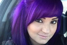 Purple Hair Love