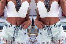 summer clothes spring clothes / Who doesn't love maxi dresses an shortshorts / by Tara Mera