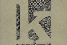 Zentangle Name Cards