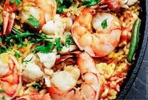 Seafood / Fish is full of omega 3s. omega 6s, and flavor!