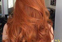 Cabelo Ruivo / Cabelos ruivos curtos, médios e longos. Ginger hair, red hair!