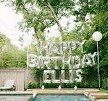 Ellis' First Birthday Party