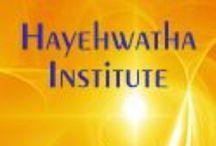 Logos: Hayehwatha Institute / Logos from the Hayehwatha Institute, located in Mount Shasta, California