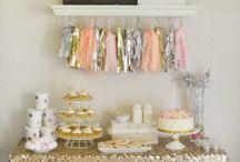 1st Birthday / Baby Girl & Baby Boy 1st Birthday, decor, invitations, treats, cake, balloons, cake smash