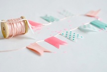 ++ PARTY + PINK AND AQUA ++ / Party and bedroom pieces in pink and aqua... / by Cherie Edwards