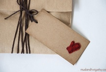 Style. Cards and Gifts. / A handmade card or nicely wrapped gift is sometimes nicer than the gift inside... here are some cute ideas...  / by Cherie Edwards