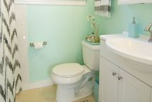 Bathroom DIY / Paint, Decor, DIY