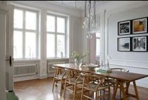 Dining Room / The place where people gather. Interior inspiration for the dining room.