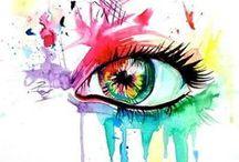 ∞ Eye Art ∞ / Inspiration