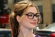 ∞ Celebrities & Glasses ∞ / Inspiration