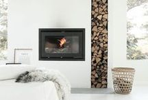 ++ HOME + FIREPLACES ++ / by Cherie Edwards