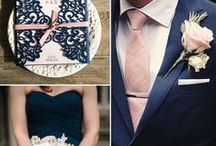 Favorite Wedding Color Pallettes / Perfect color combinations for the perfect wedding