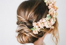 'I Do' Hair-do's / Gorgeous hair designs for wedding inspiration