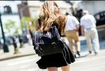 Accessorize / Bags, sunglasses, scarves, socks, tights, watches, belts, hats, etc. / by Flora Kim