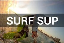 Paddle Surfing  / Paddle boarding... meet some big waves! SUP surfing is kicking off around the world! / by Tower Paddle Boards