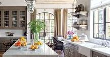 Great Kitchen Ideas / Follow this board for daily tips, advice, and ideas for your kitchen.  #kitchendesigns