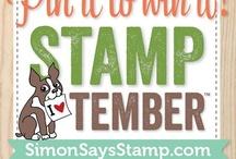 STAMPtember Simon Says Stamp / by Jennie P.