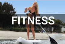 Fitness / We like to enjoy our workouts here at Tower, and what better way that to do that while enjoying the outdoors?! Most of these workout are geared toward individuals who love to live an active, healthy lifestyle--most of it being outdoors! #towerpaddleboards / by Tower Paddle Boards